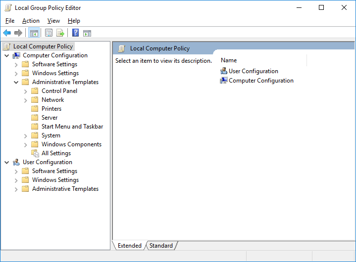 How to reset Local Group Policy Settings in Windows 10